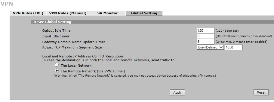 Azure VPN med Zywall 5 - 3